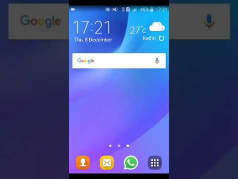 Setting Jaringan 4G Galaxy J1 Ace