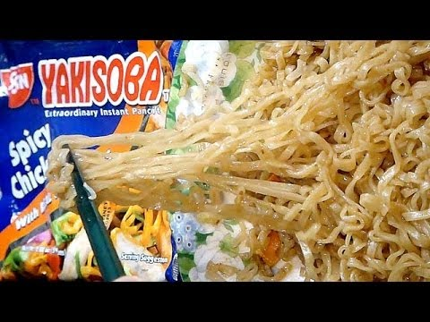 No.5204 Nissin Yakisoba (Philippines) Spicy Chicken