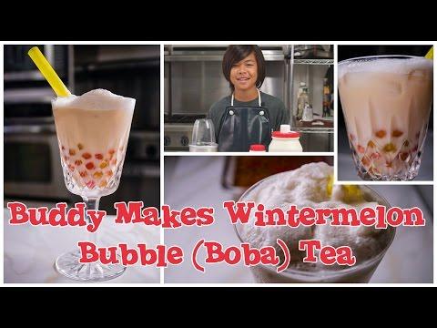 How to make Wintermelon Bubble Tea (Boba) with Colored Tapioca
