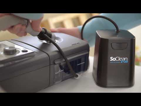 SoClean 2 Go - portable cpap mask, tubing, water chamber cleaner