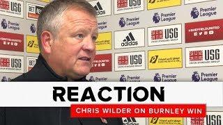 Chris Wilder   Sheffield United v Burnley   Reaction interview
