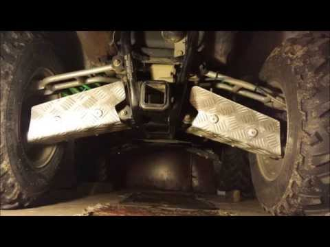Homemade Arctic Cat A-arms Skid Plates