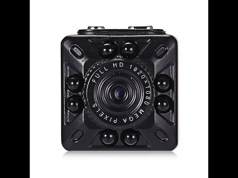 The SQ10 Mini DV HD 1080p Night Vision Motion Detection Spy Camera Instructions And Review