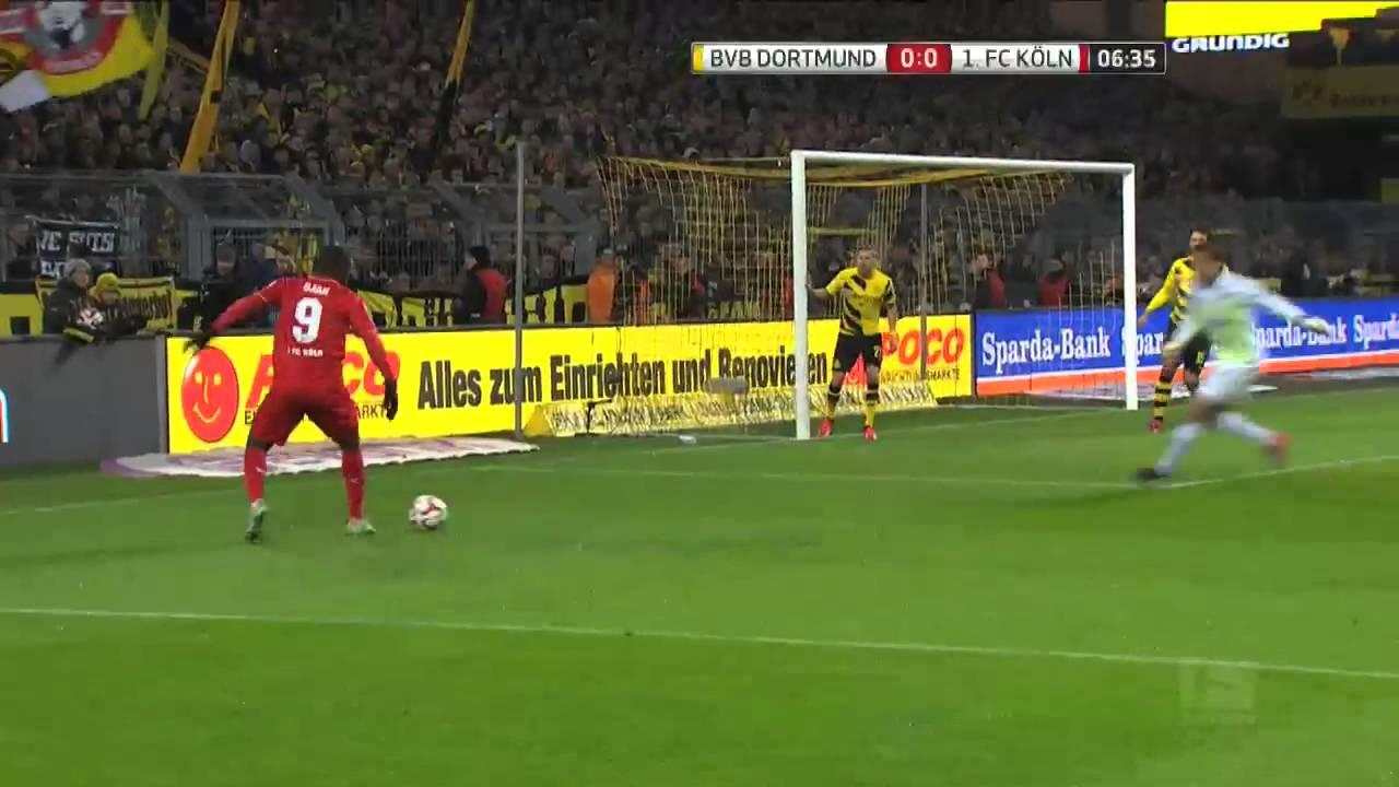 Borussia Dortmund vs. Cologne