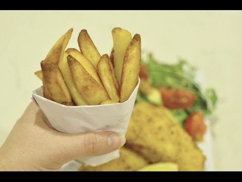 How to Make a Paper Cup for Hot Chips