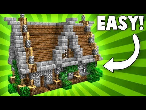 Stylish & Compact Medieval House! - Minecraft Tutorial