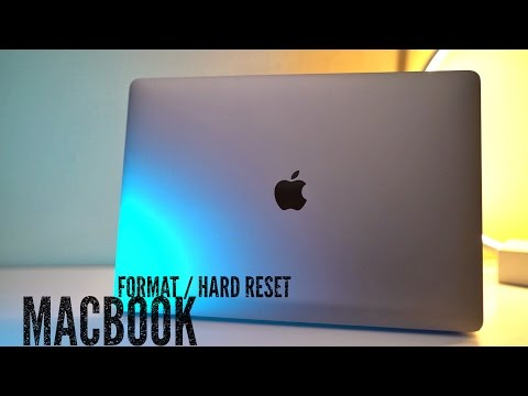 How To Format / Hard Reset MacBook Touchbar | (macOS Sierra)
