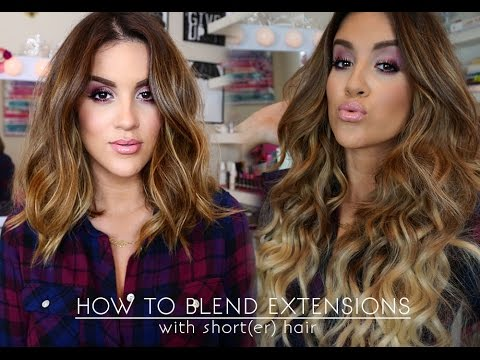How To   Wear Extensions With Short(er) Hair