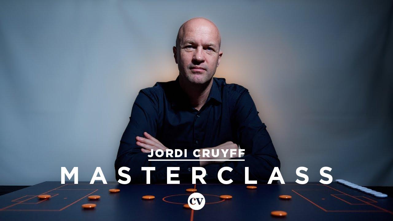 Jordi Cruyff: Johan Cruyff and the Barcelona way – Masterclass