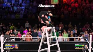 Wwe 2k16 top crashes in the ladder