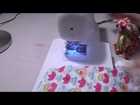 How to sew The Emily Dress 3/5 (ruffles) - A pillowcase dress sew along and tutorial