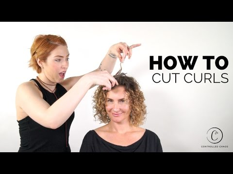 The BEST Way to Cut Curly Hair