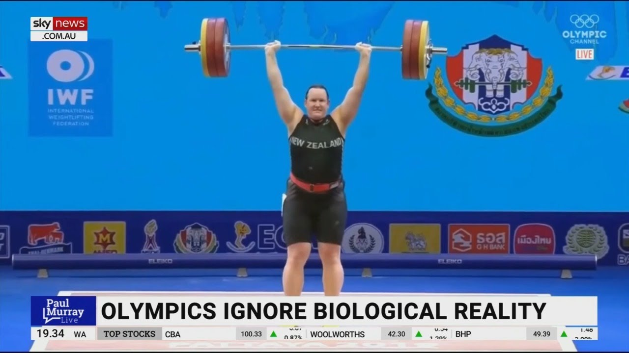 Female weightlifter speaks out against trans athlete's Olympics qualification