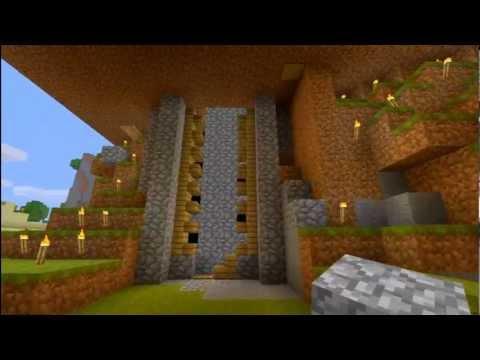 Minecraft Xbox 360 First Working Piston Elevator on Youtube! 7-13-2012 Update