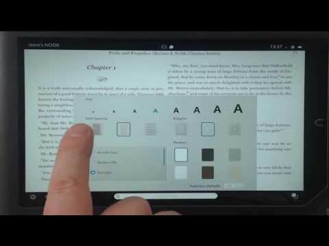 Nook HD+ eReader for low vision readers