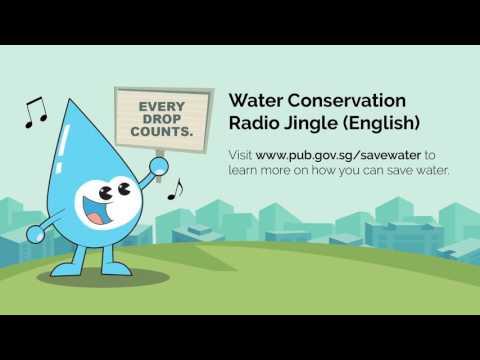 PUB Water Conservation Radio Jingle (English)