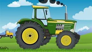 New Tractor Speed | Toy Factory | Giant Super Tractor Video For Kids | Traktory Dla Dzieci Bajka