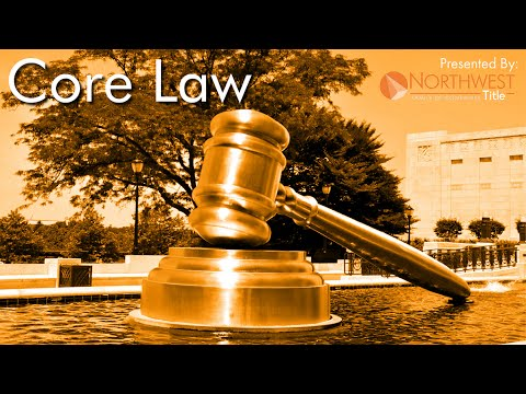 Real Estate Core Law - Part 1: Contracts