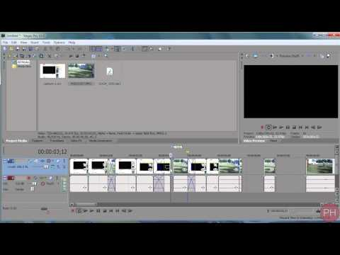Sony Vegas -Grouping/Selecting Clips [Tutorial 20]