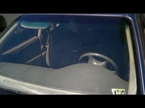 DIY Scratched windshield glass repair fix
