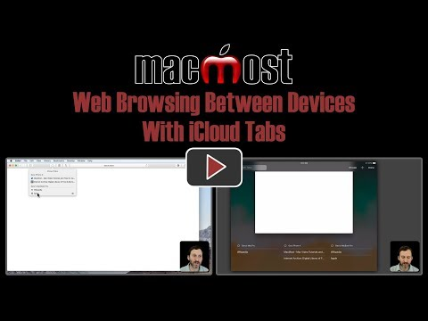 Web Browsing Between Devices With iCloud Tabs (#1649)