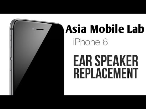how to slove iphone 6 speaker problem