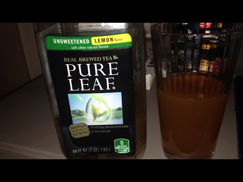 Review of Pure Leaf Unsweetened Lemon Tea
