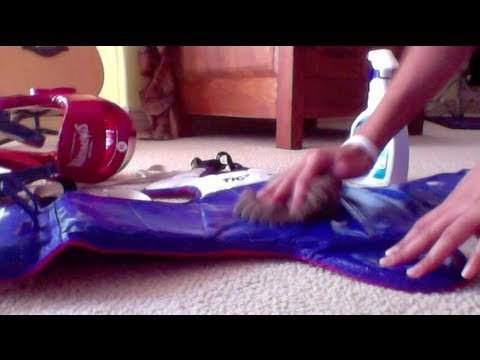 How to clean sparring gear