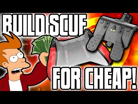 BUILD A SCUF CONTROLLER FOR CHEAP! - TRIGGER STOPS & PADDLES