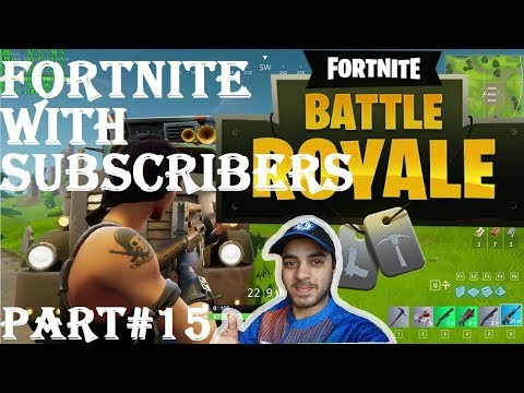 FORTNITE WITH SUBSCRIBERS HINDI part 15 Ps4