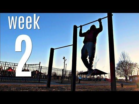 Calisthenics Progress Week 2
