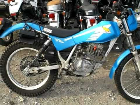 JAPANESE USED MOTORCYCLE / Sold to African HONDA TL125