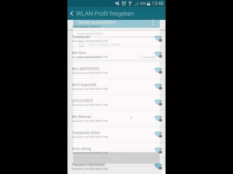 WiFi sharing with the Note 4
