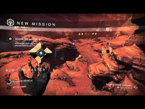 Destiny [How to get on a sparrow like a boss]