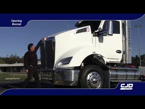 004 T610 Driver Training under bonnet