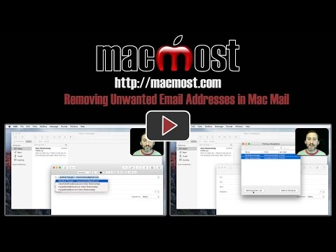 Removing Unwanted Email Addresses in Mac Mail (#1307)
