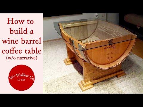 Wine Barrel Table (no narrative)