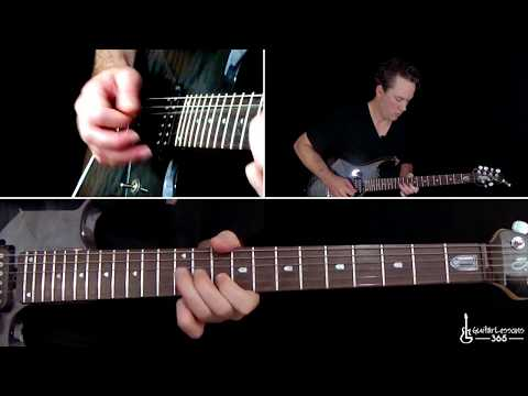 AC/DC - For Those About To Rock (We Salute You) Guitar Lesson (First Solo)