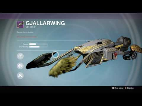 Gjallarwing/Iron Gjallarwing Sparrow