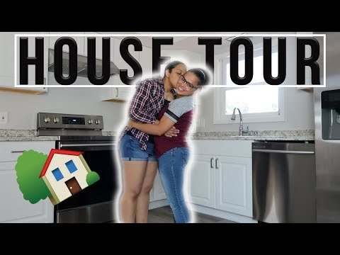 ITS FINALLY HERE.... *OUR NEW HOUSE TOUR*🏡