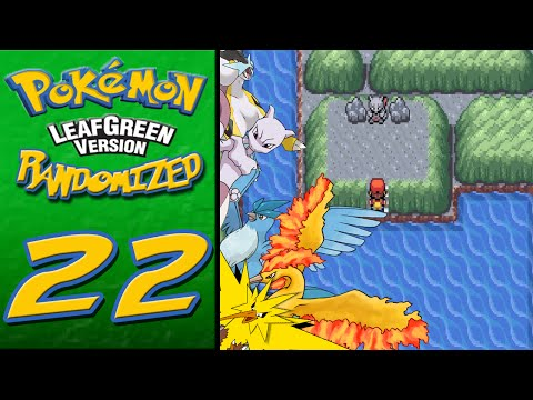 Pokemon Leaf Green Catching All Legendaries