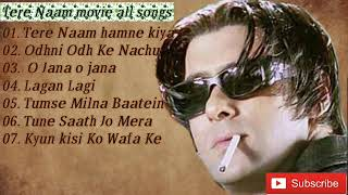 Salman Khan, Tere name all songs