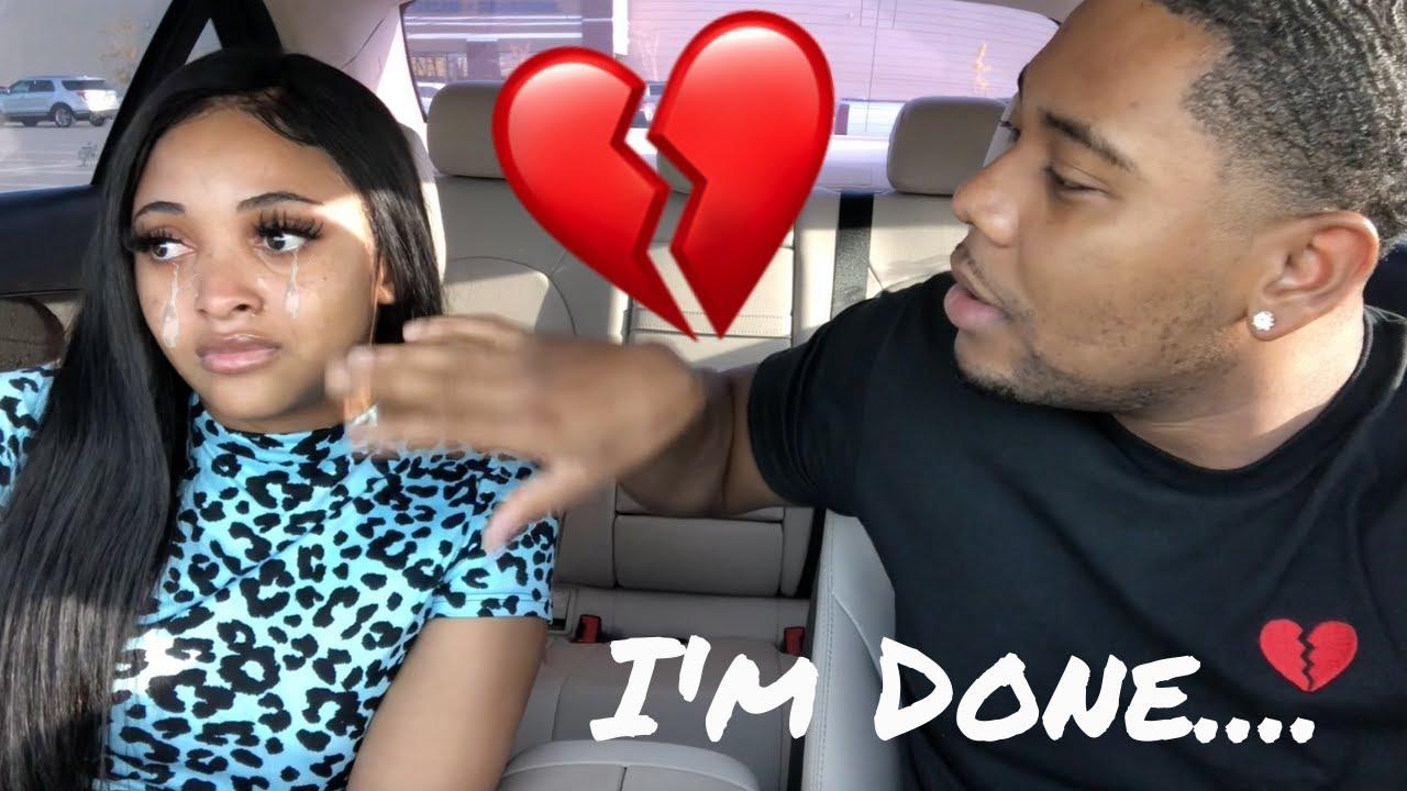 Break Up Prank On My Boyfriend *Backfires* (I Cried....)