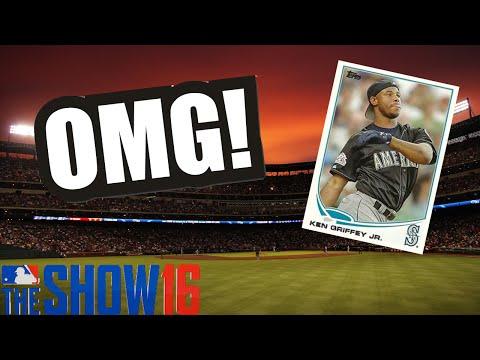 Can Ken Griffey Jr. Hit A 500ft Homerun?!  MLB The Show 16