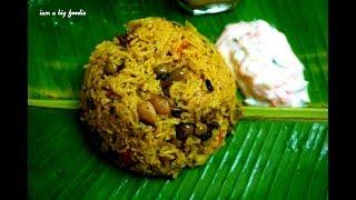 Today Lunch: Veg Rice,cucumber Raitha& Golden Butter Milk