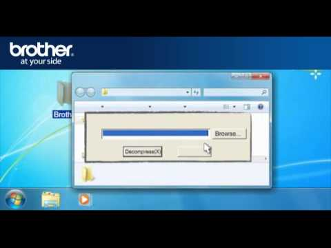 Win7 - Setup a Wireless Brother inkjet All-in-one with a router that not using security. q3a_seven