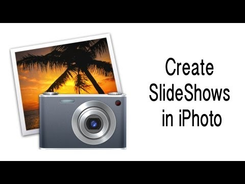 How to create slideshows in iPhoto - iPhoto Tutorial