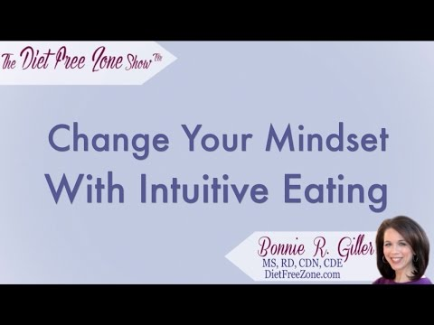 Change Your Mindset with Intuitive Eating