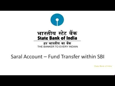 SBI Corporate Internet Banking Saral: Funds Transfer within SBI (Video Created as on September 2016)