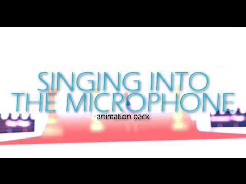 The Sims 3 Animation - Singing Into the Microphone and Walking